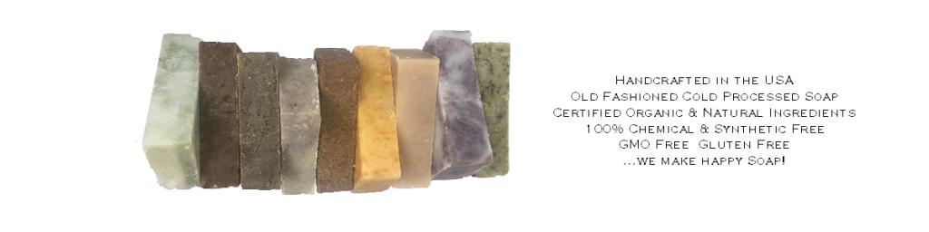 Green soap bars