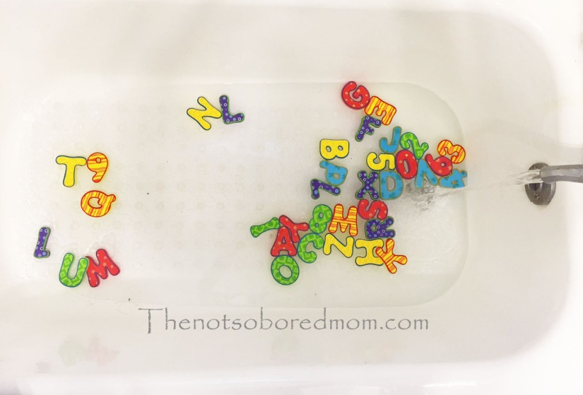 Nuby bath letters1