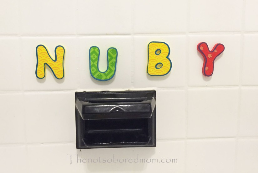 Nuby bath letters2